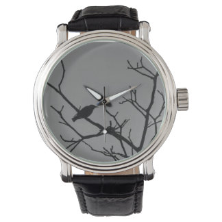 Reloj del Pájaro-en-uno-Árbol