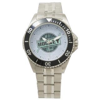 Reloj del papá del hockey #1, opción del estilo
