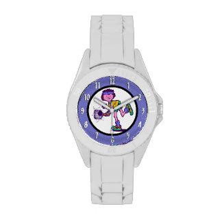 Reloj del partido del tenis