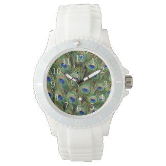 Reloj del pavo real