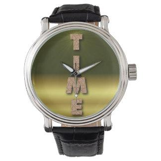 Reloj del pedazo del tiempo