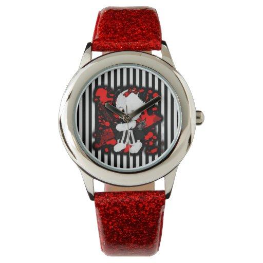 Reloj del perrito de la motosierra