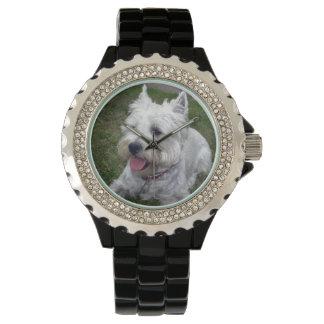 Reloj del perro de Westie