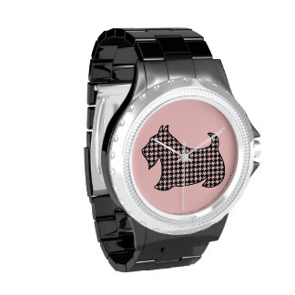 Reloj del perro del escocés