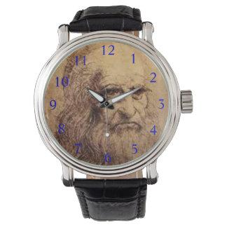 Reloj del personalizado de Leonardo* da Vinci