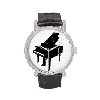 Reloj del piano de cola