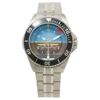 Reloj del piloto del aviador
