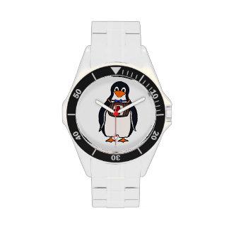 Reloj del pingüino de St Bernard