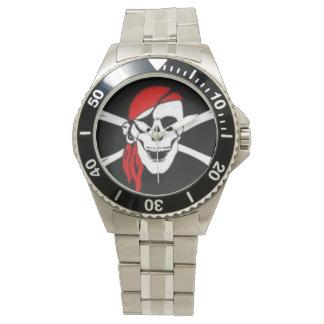 Reloj del pirata de los hombres