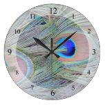 Reloj del plumaje del pavo real