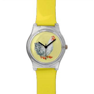 Reloj del pollo (amarillo)