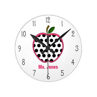 Reloj del profesor de Apple del lunar