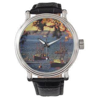 Reloj del puerto de la barra