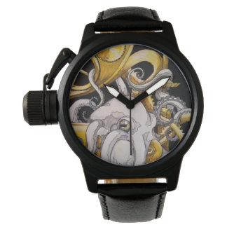 Reloj del pulpo de Steampunk