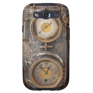 Reloj del punk del vapor del vintage galaxy SIII cárcasa