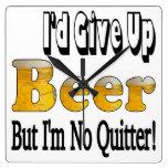 Reloj del Quitter de la cerveza