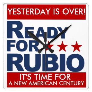 Reloj del #ReadyForRubio