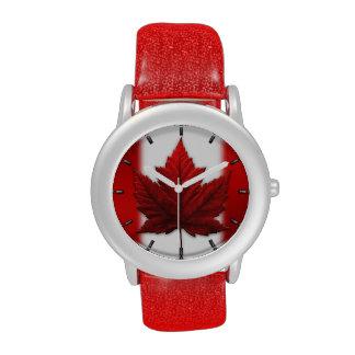 Reloj del recuerdo de Canadá del reloj de la bande