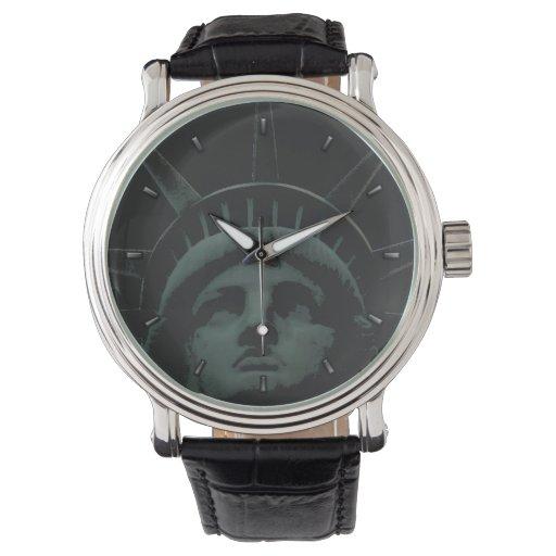 Reloj del recuerdo de New York City del reloj de