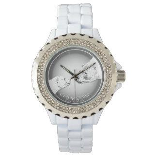 Reloj del recuerdo del reloj del oso polar de