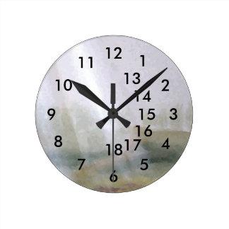 Reloj del regalo de la oficina de la sol 18-Hour