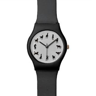 Reloj del reloj May28th del perro del en punto del