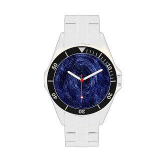 Reloj del remolino de la onda de OBX