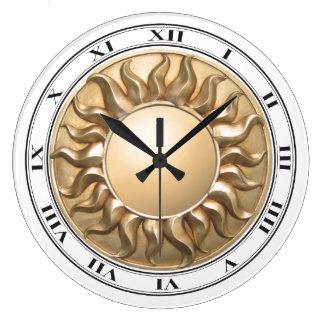 Reloj del resplandor solar