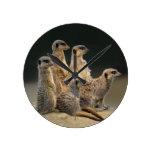 Reloj del retrato de la familia