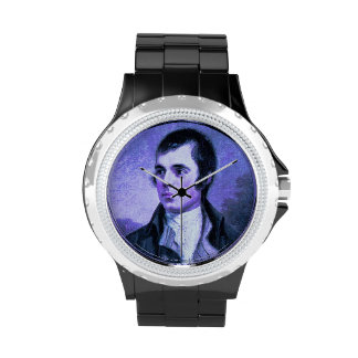Reloj del retrato de Robert Burns