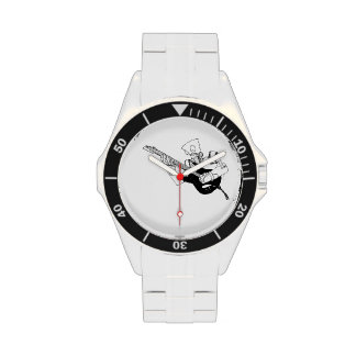 Reloj del robot de Rockin