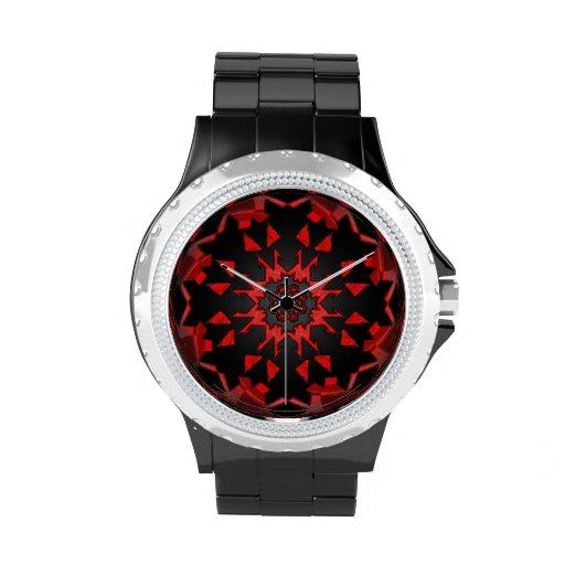 Reloj del rosa del SciFi