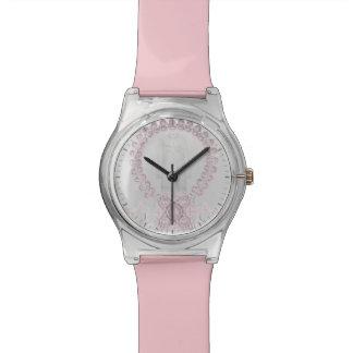 Reloj del rosa en colores pastel May28th