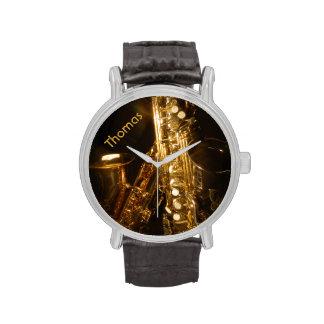 Reloj del saxofón