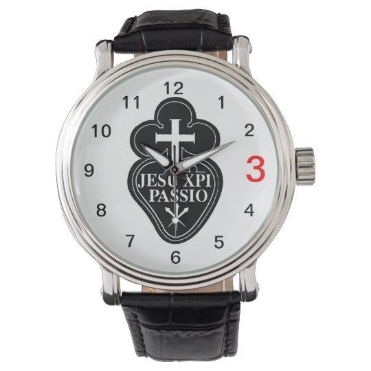 Reloj del sello de Passionist