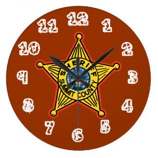 Reloj del sheriff del condado de Summit Ohio