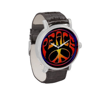 Reloj del signo de la paz