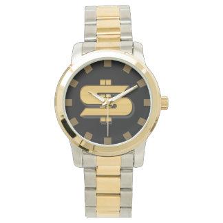 Reloj del símbolo del dinero