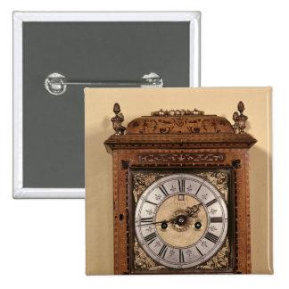 Reloj del soporte, c.1700 pin cuadrada 5 cm