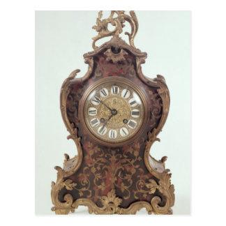 Reloj del soporte del Boulle por A Brocot Delettre Postal