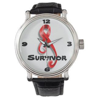 Reloj del superviviente del movimiento