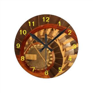 Reloj del sur viejo de la casa de la reunión de Bo
