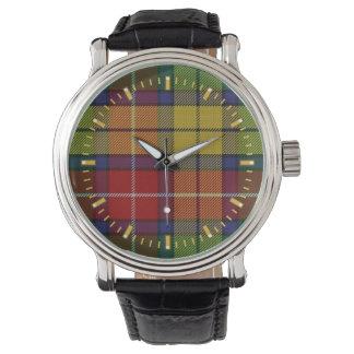 Reloj del tartán de Buchanan