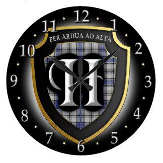 Reloj del tartán de Hannay del clan