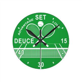 Reloj del tenis