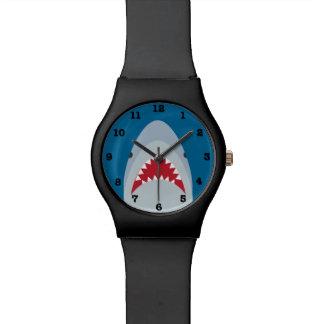 Reloj del tiburón may28th (con números)