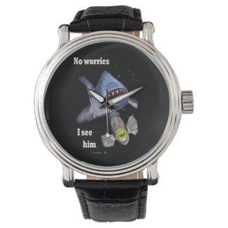 Reloj del tiburón y del Triggerfish
