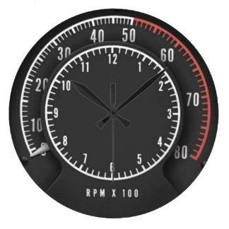 Reloj del Tic-Toc-Tacómetro