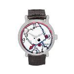 Reloj del tiempo de Westie
