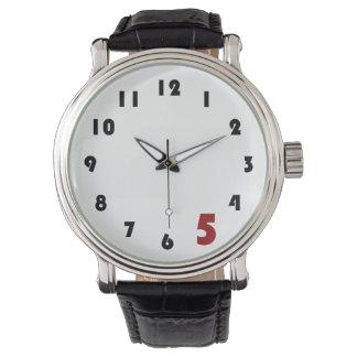 Reloj del trabajo